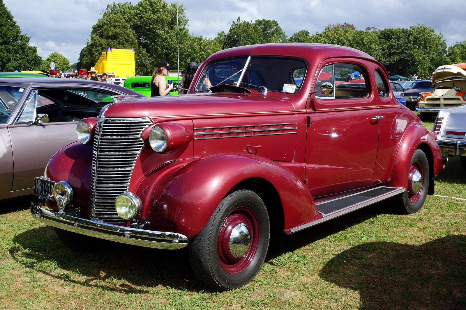 1938 Chevrolet Coupe Coches Clasicos Automoviles Autos