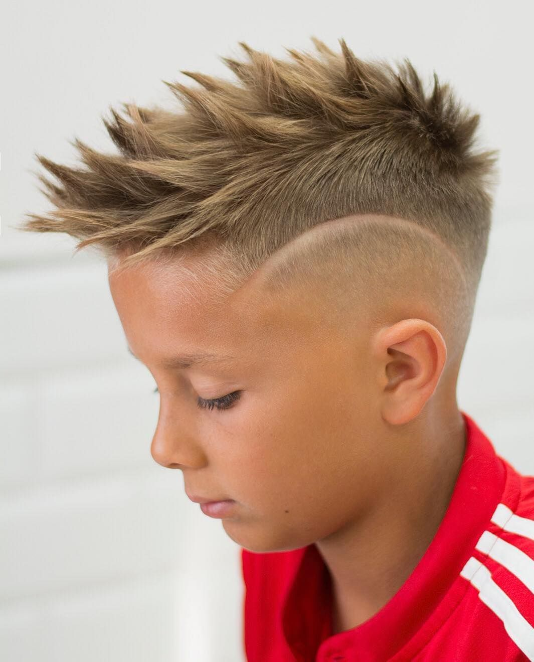 90 Cool Haircuts For Kids For 2020 Soccer Hairstyles Boy Haircuts Short Boy Hairstyles