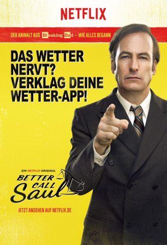 Netflix Revolutioniert Mit Better Call Saul Kampagne Die Werbung Netflix Better Call Saul Kampagne