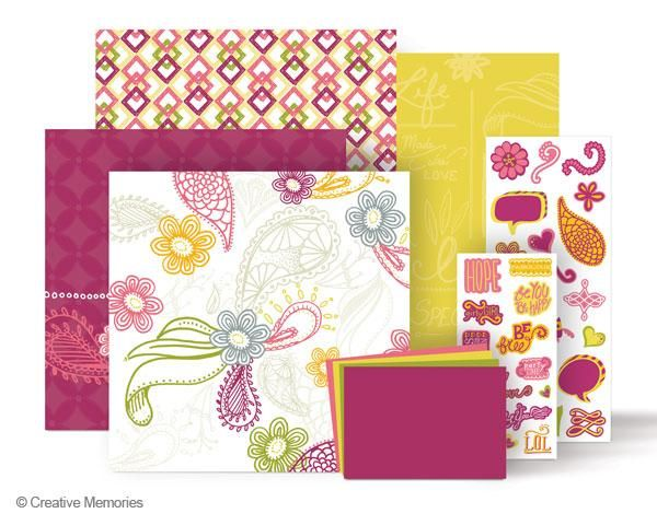 The themed decorative paper and stickers included in each Additions are just enough to spice up several scrapbook pages and can also be used to embellish a Magnetic Everyday Display.
