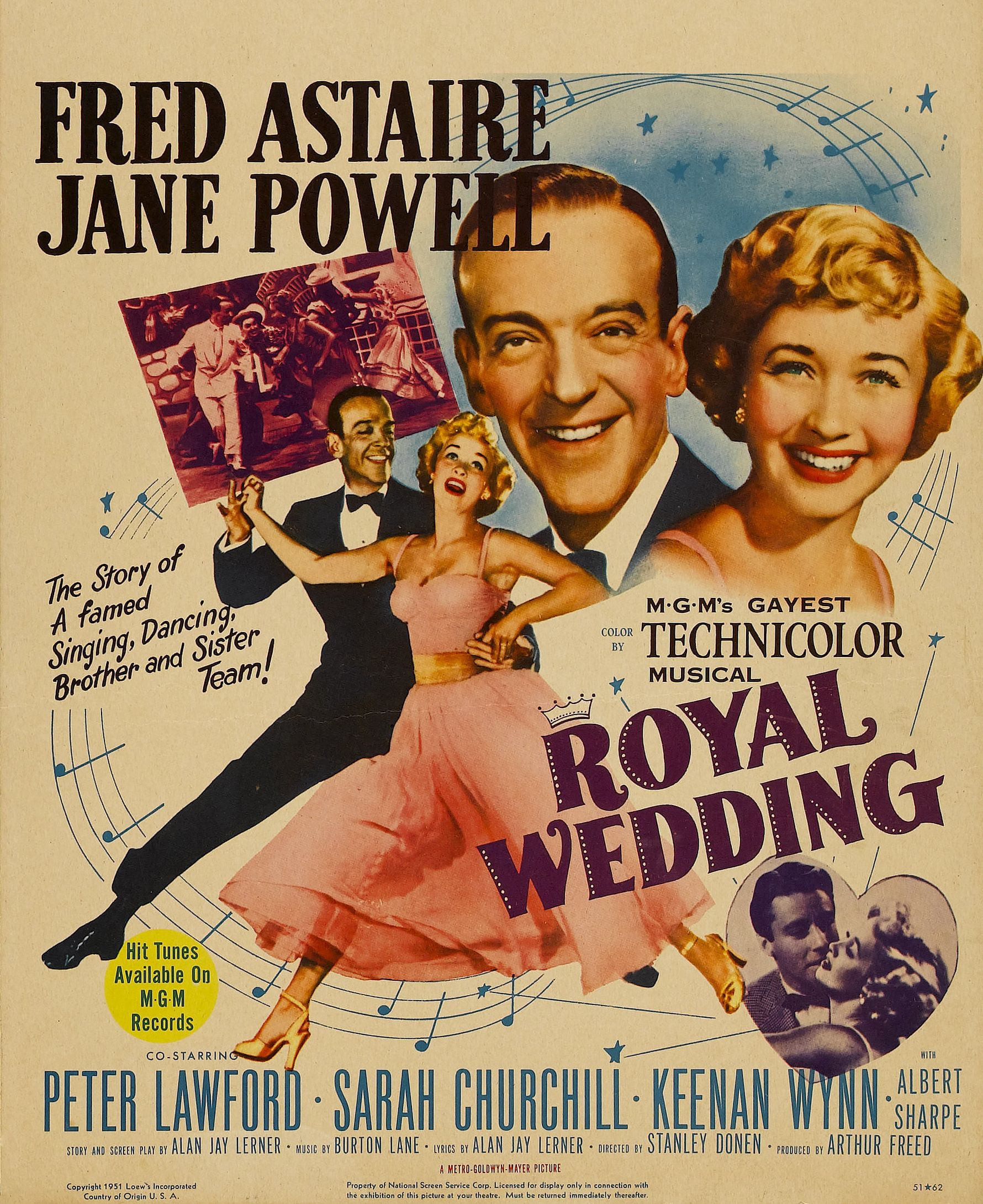 Royal Wedding (1951) - dancing on the ceiling = best dance ...