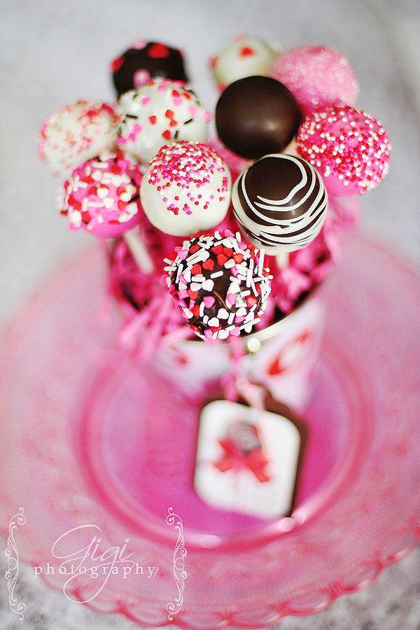 Sweet Valentine Cake Pop Valentines Day Cakes Cake