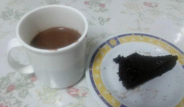 chocolate quente como fazer