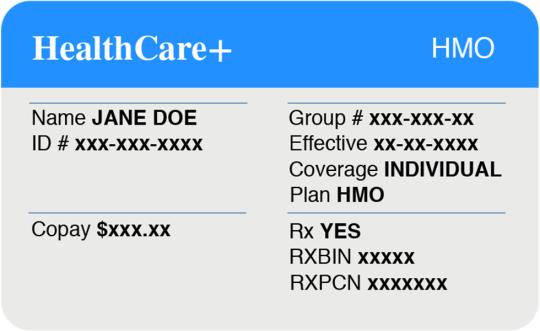 Med Ed Decoding Your Health Insurance Card Healthy Advice