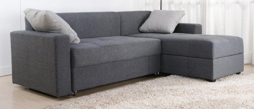 Sutton Convertible Sectional Sofa Bed Id 124467 Dorelhomeproducts Contemporary Sofasloveseats