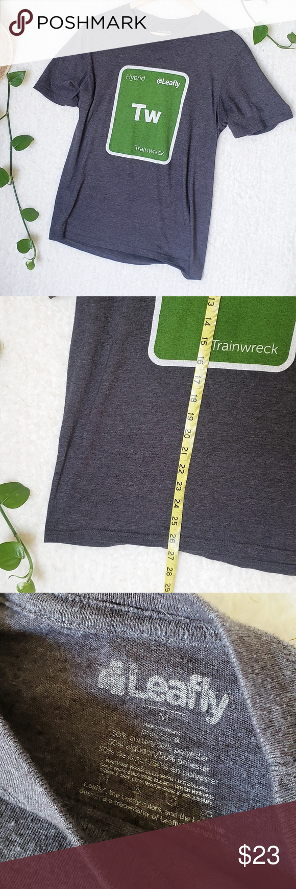 Leafly Trainwreck Promo Exclusive Tee Men's M (With images
