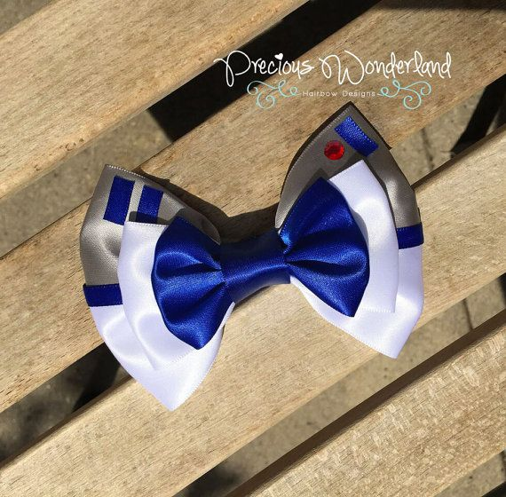 Hey, I found this really awesome Etsy listing at https://www.etsy.com/listing/226905913/star-wars-inspired-r2d2-hair-bow