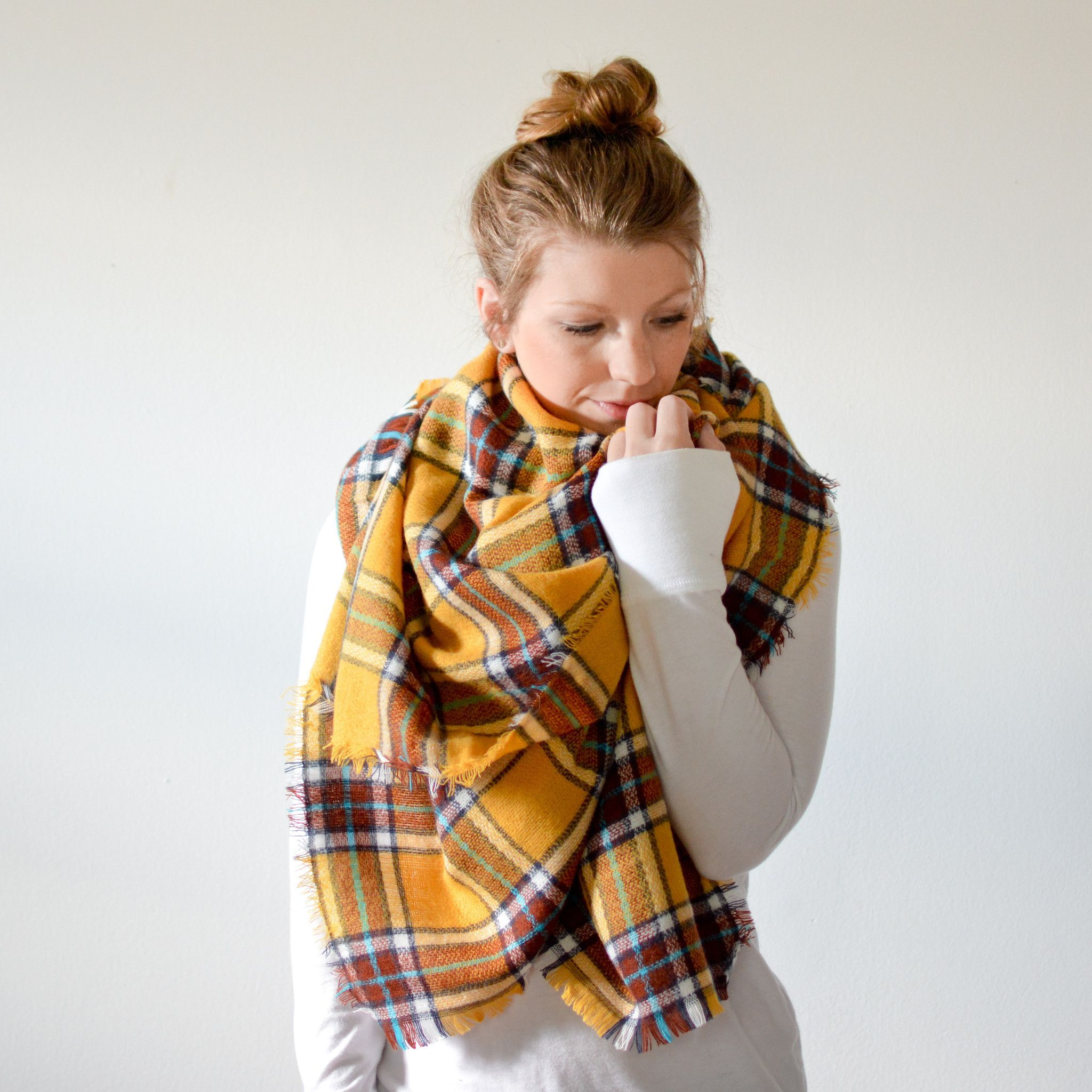 Bundle Up This Blanket Scarf Is Perfect For Staying Warm In The Rodeo Bundling 5 Cooler Temps