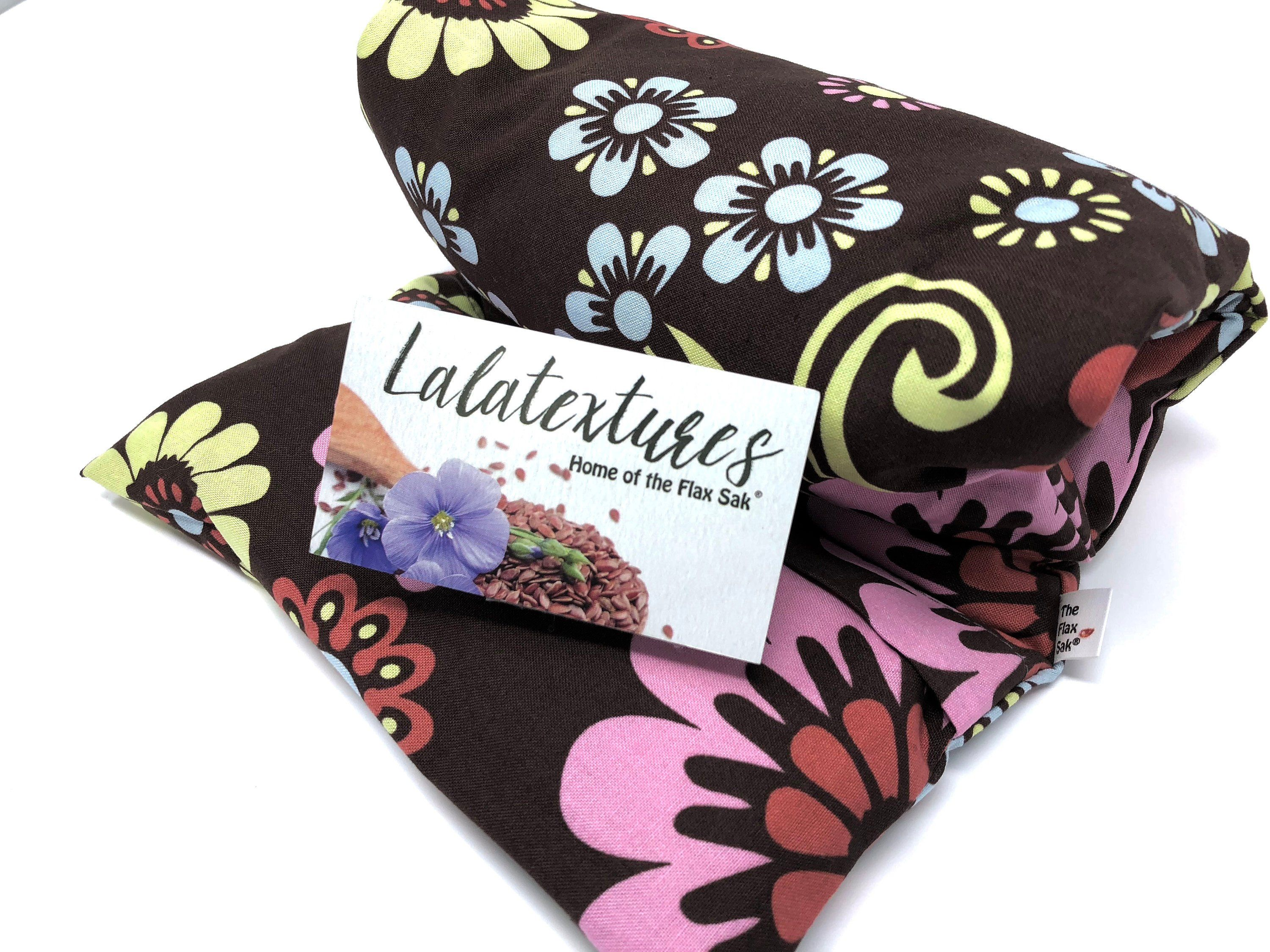 Large Flax Heating Pad Microwavable Removable Washable Cotton
