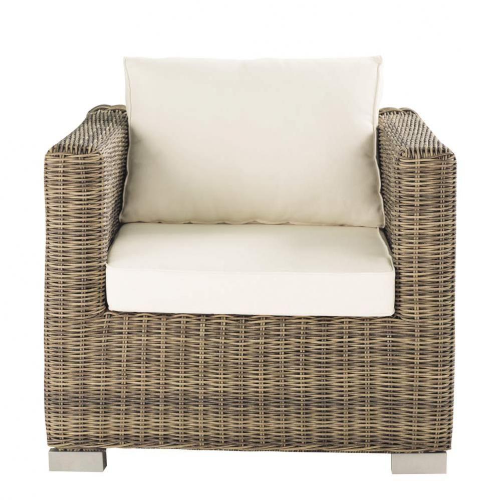 Wicker Garden Armchair Outdoor Furniture Sillones Para