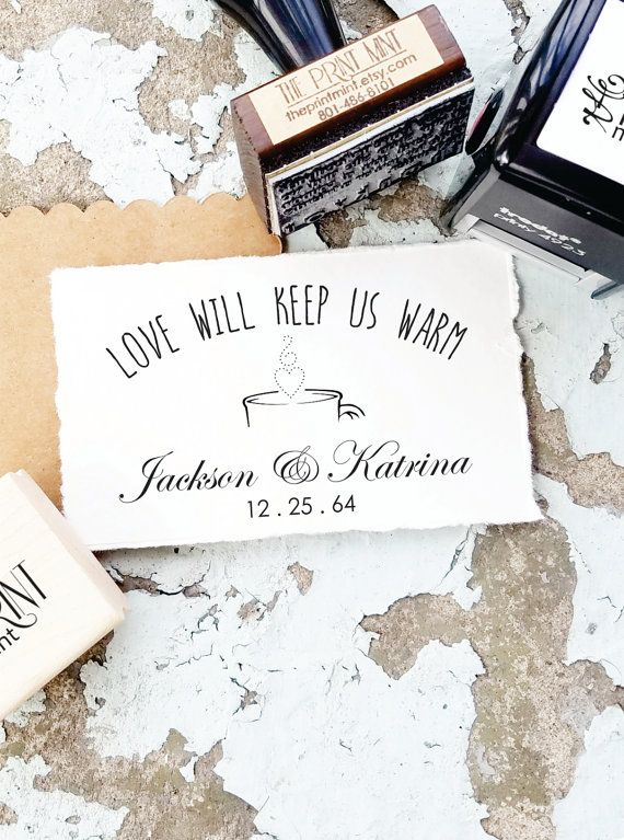 custom rubber stamps- -personalized stamp handmade stamp customt  Rubber Stamp business stamp handmade by-made with love