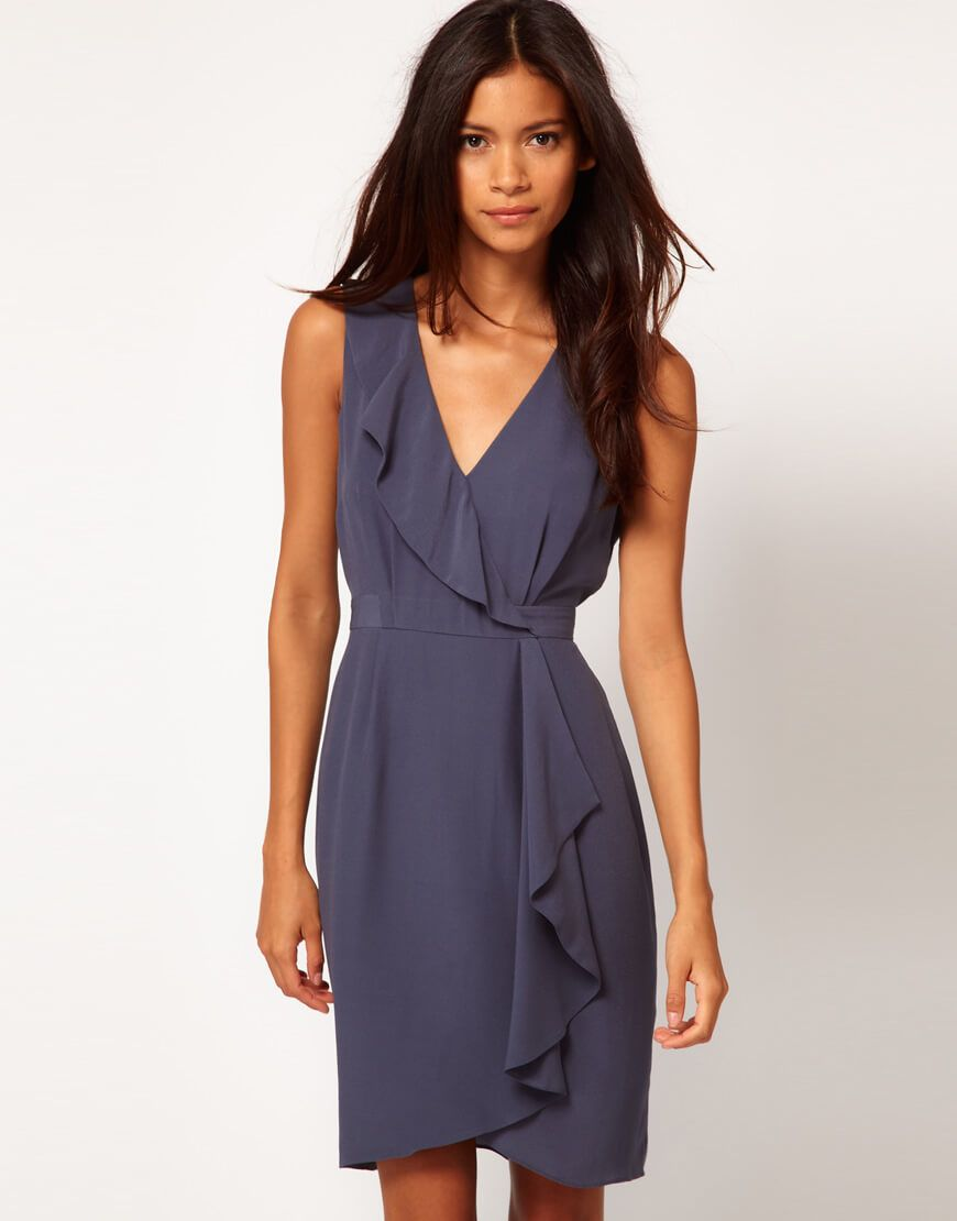 Платье с запахом из легких тканей | Лето | Pinterest | Vestidos ...