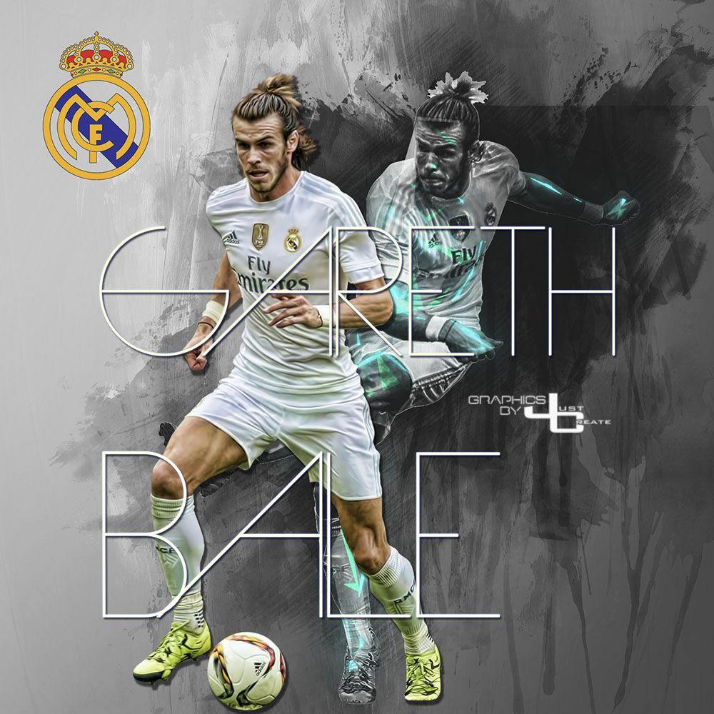 Gareth Bale Graphics By Justctreate Sports Edits Gareth Bale Sport Soccer Photo Editing