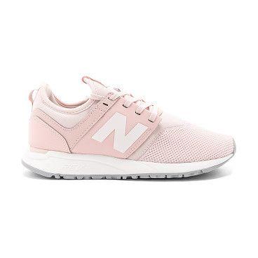New Balance WL574MIB pink Girls Running shoes Low