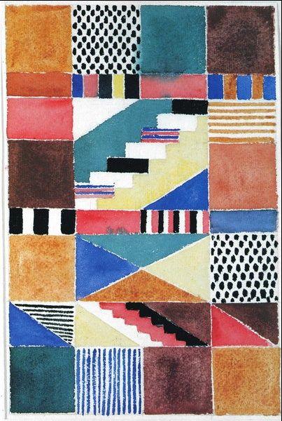 Artist from the Bauhaus, Gunta Stolzl