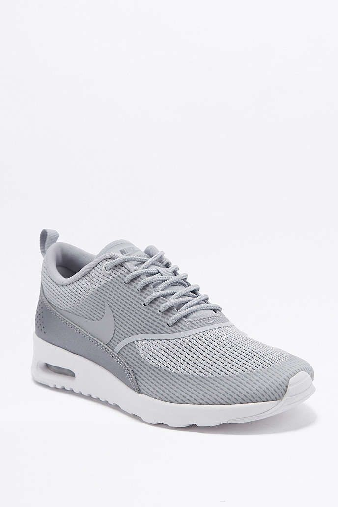 nike air max thea grey trainers air max thea nike air. Black Bedroom Furniture Sets. Home Design Ideas