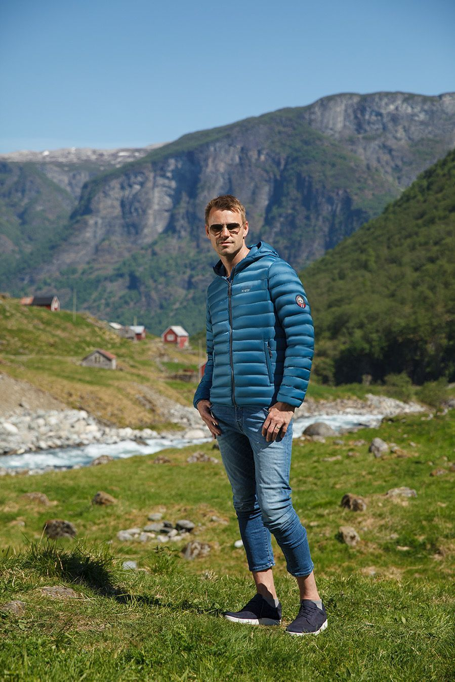 The New Ocean Blue Down Jacket By Scandinavian Explorer Is Available For Purchase In Our Webshop Get Yours Today At Mallofnorway Com