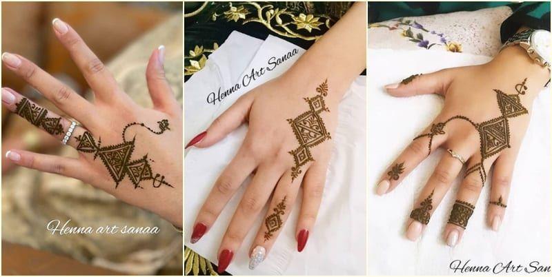 تشكيلة من النقش الفاسي In 2021 Henna Art Henna Hand Tattoo Henna