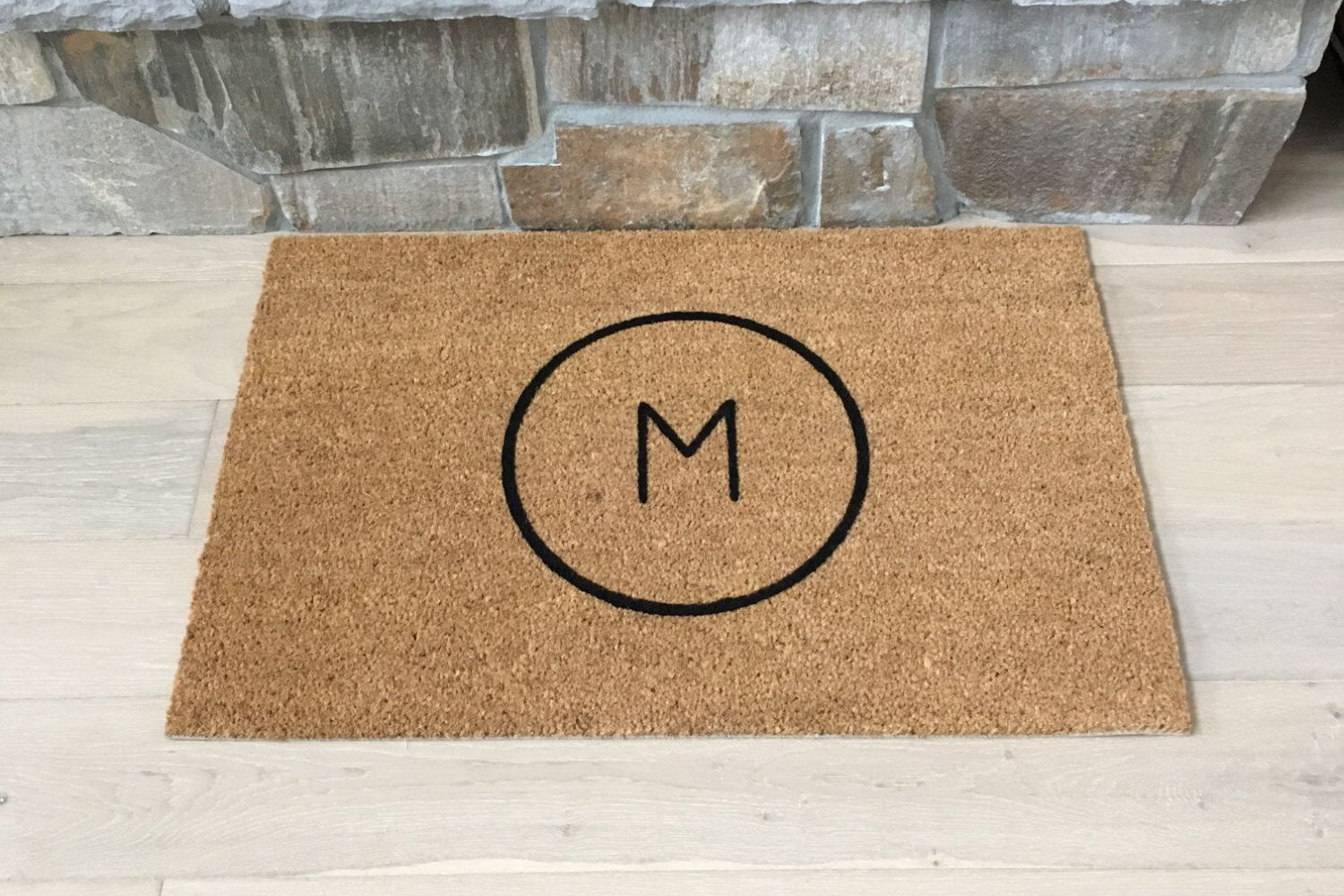 bath monogrammed design decorating on entry beyond x for bed furniture breathtaking awesome mats front your mat personalized floor doormat and monogram decor door
