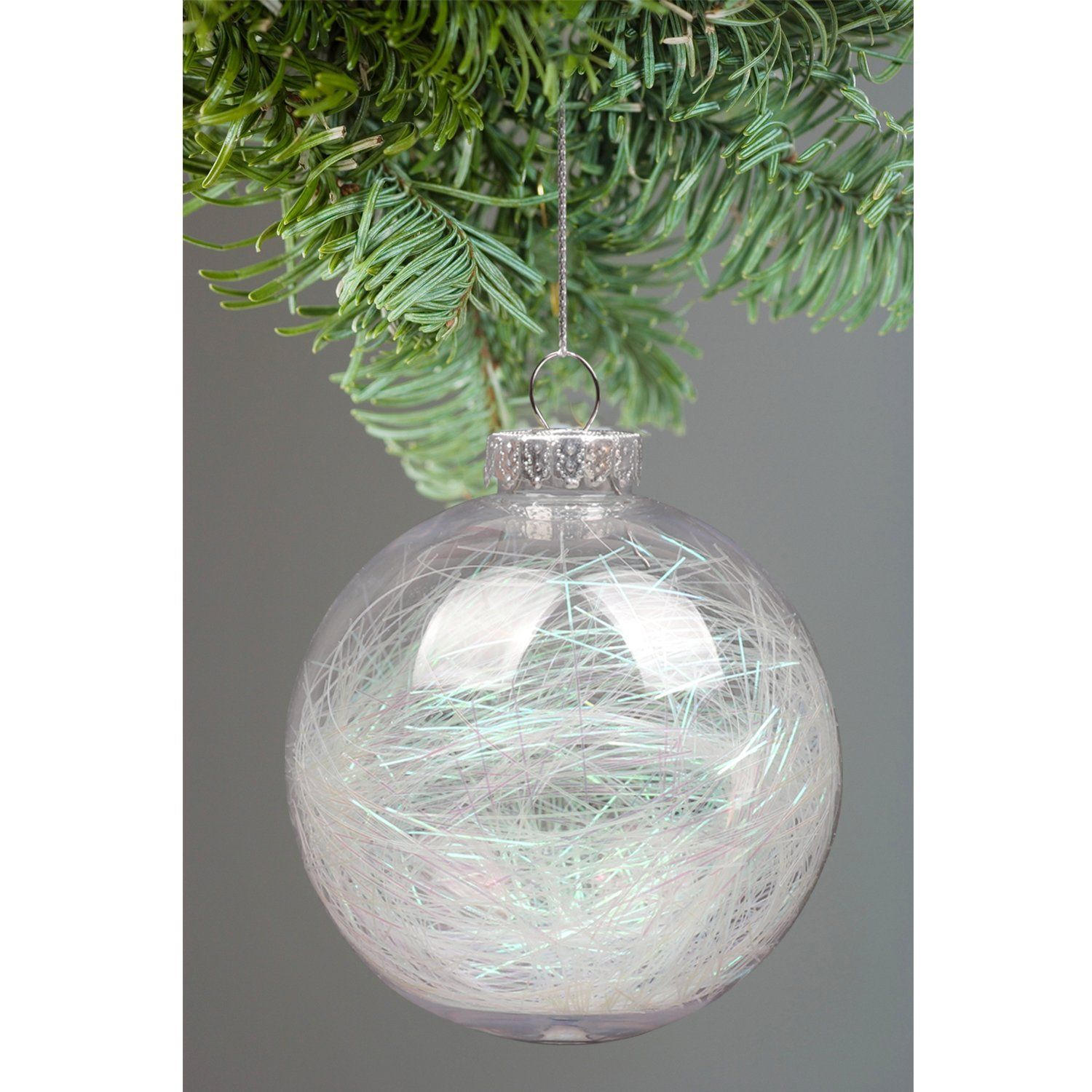 Ki Store Clear Christmas Balls Ornament Plastic Shatterproof Large Christmas Tree Ornaments Ir Large Christmas Tree Unique Christmas Ornaments Tree Decorations