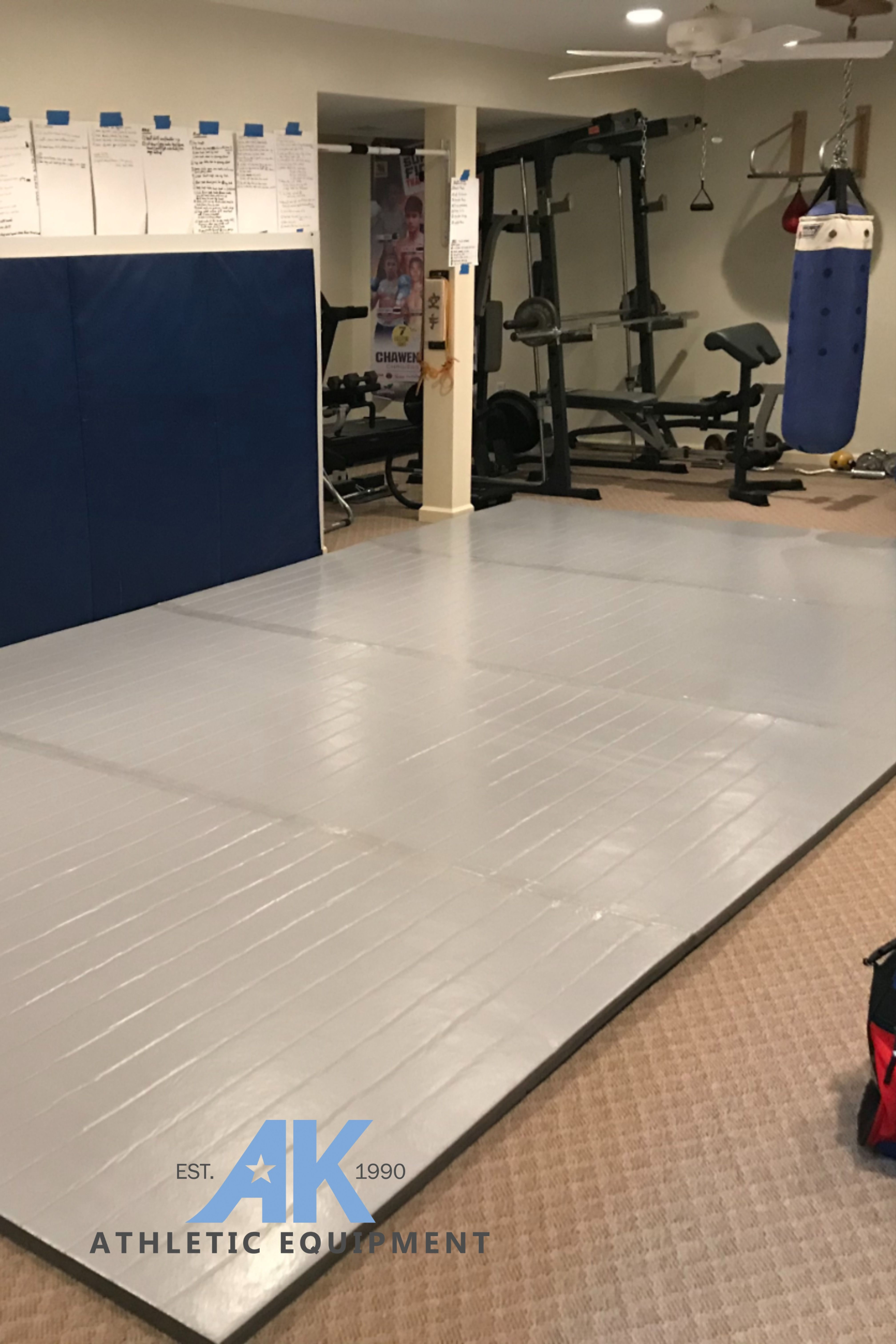 """Wrestling Room Design: 10' X 5' X 1 3/8"""" Roll-Up Wrestling Mat In 2020 (With"""