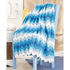 Surf's Up Blanket Crochet Pattern