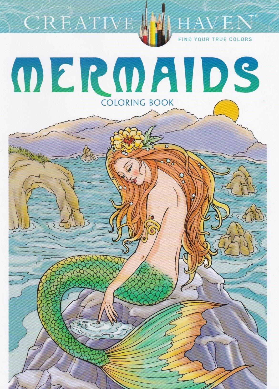 CH 149 Kleurboek Mermaids