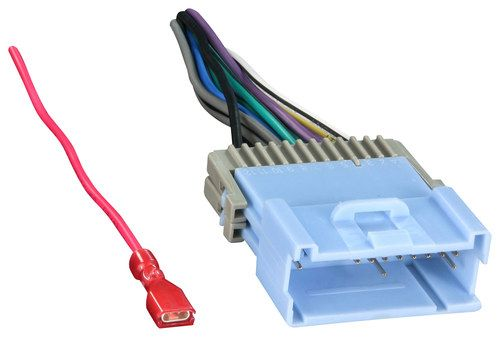 Metra - Radio Wire Harness Adapter for Select Chevrolet and ... on