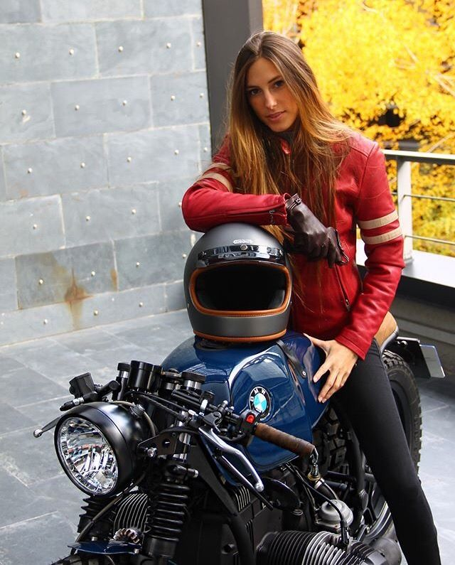 motorcycles Girls on bmw