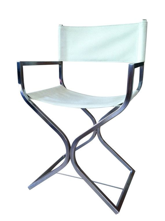 Mod Chrome And Leather Director S Chair