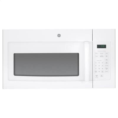 Ge Jvm3160dfww 1 6 Cu Ft White Over The Range Microwave