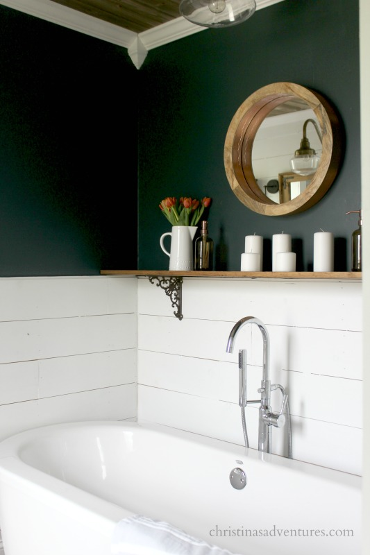 Photo of Vintage Inspired Farmhouse Bathroom Makeover – Christinas Adventures