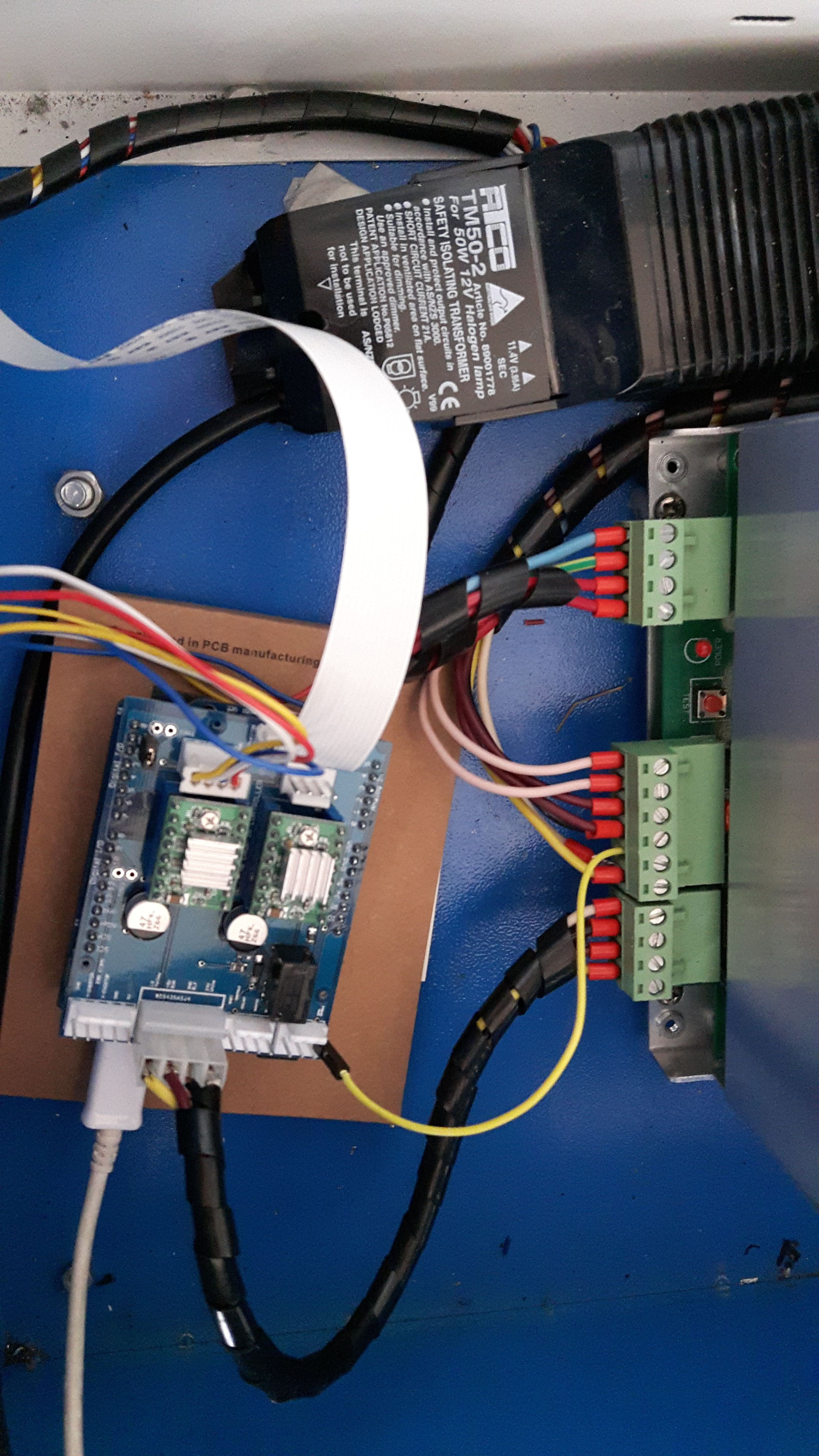 wiring the k40 and Gerbil   cnc in 2019   Cnc controller