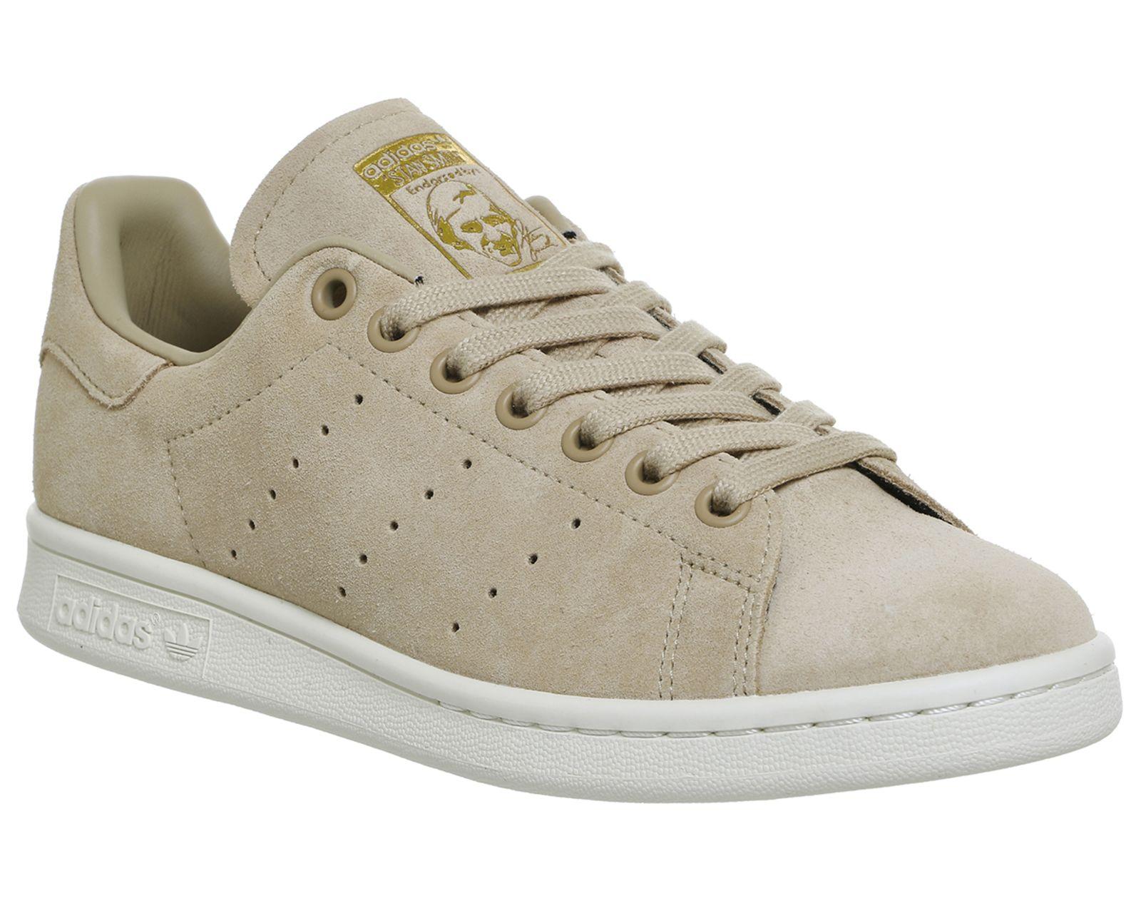 big sale 7e6e2 6dbf7 Adidas Stan Smith Linen Khaki Suede | Shoes in 2019 | Stan ...