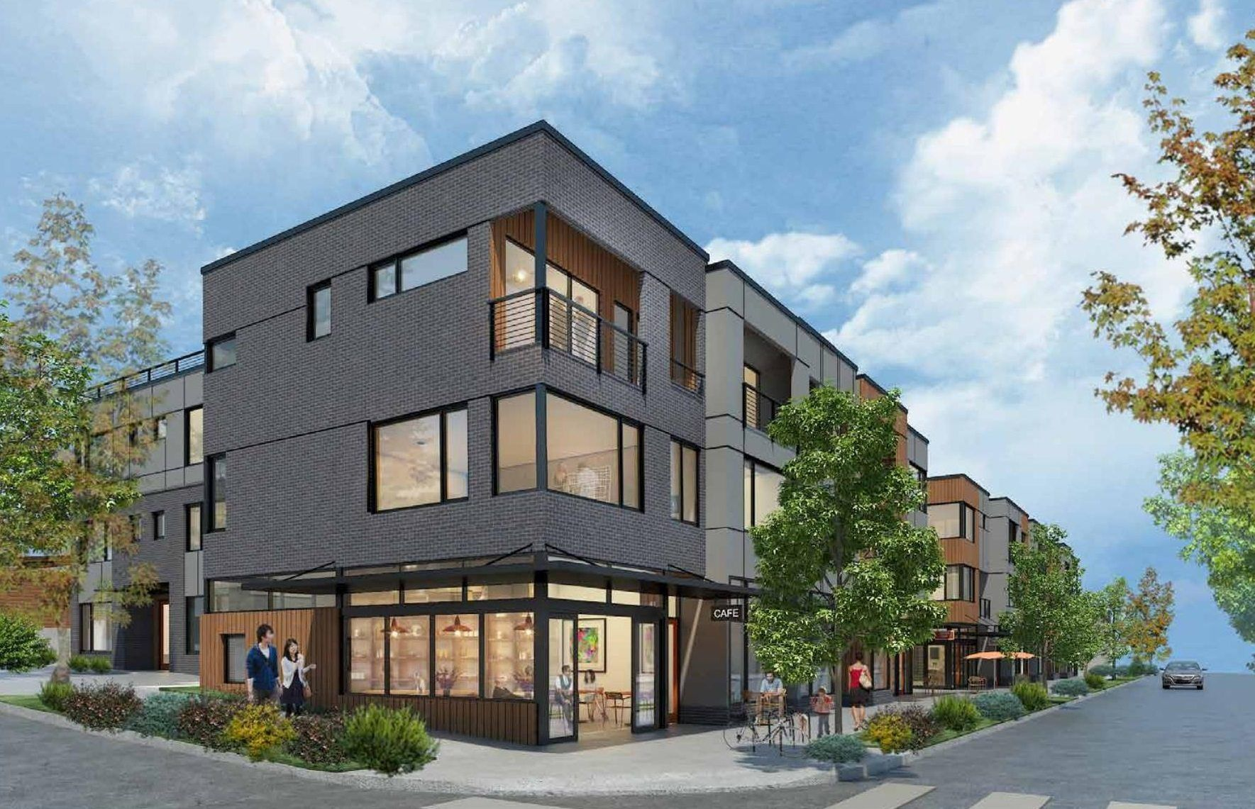 West Seattle S Rally Townhouses Urban Living Townhouse Exterior Townhouse Designs Urban Living