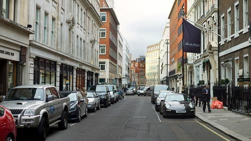 Westminster City Council And Smart Parking Tested Sensors On Streets Including Savile Row Source Ndecam Via Flic London The Beatles The Good Place