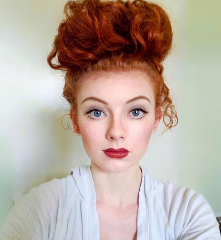 Von Lucille Ball inspiriertes Make-up. «Was denkst du? #lucilleball - #denkst #inspiriertes #lucille #lucilleball - #new #lucilleball