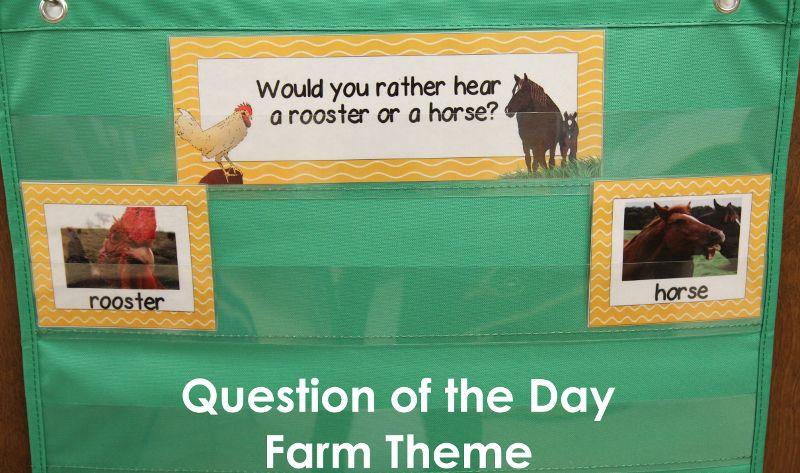 Down on the Farm Theme in PreK Farm theme, Farm lessons