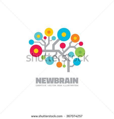stock-vector-human-brain-vector-logo-template-concept-illustration ...