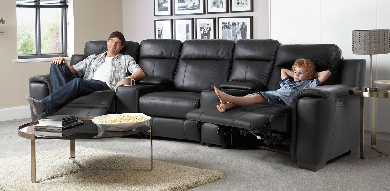 Theatre Corner Electric Recliner 2147 For Home Cinema Room