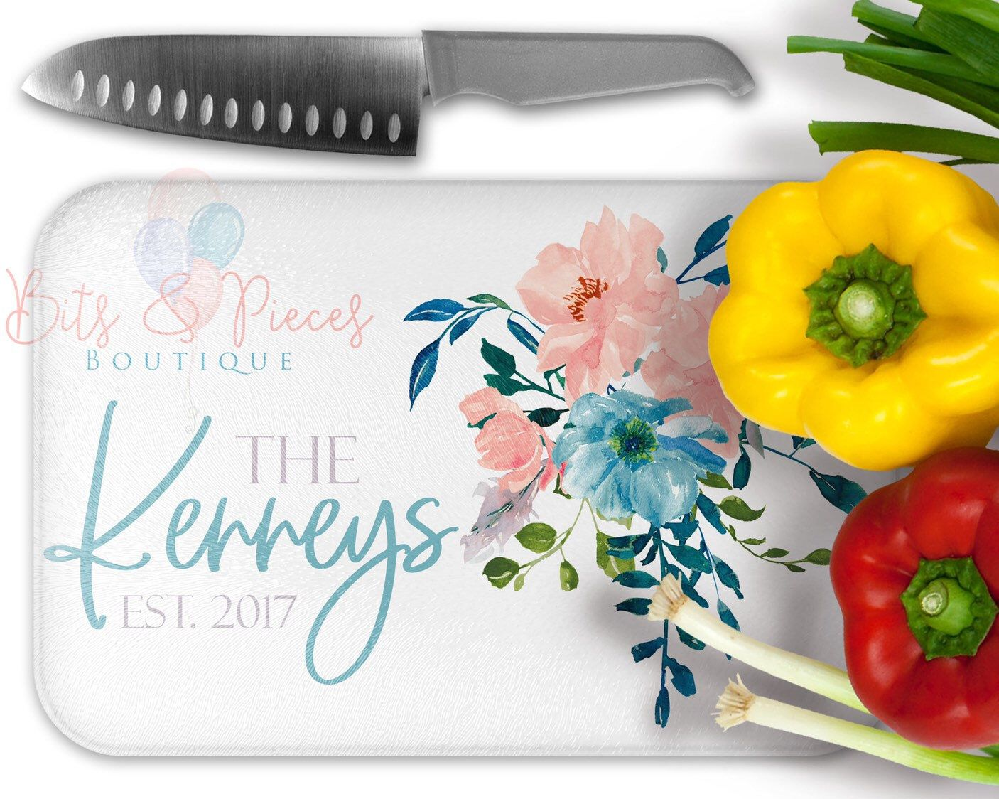 Mr /& Mrs Home Sweet Home Housewarming Gift New Homeowners Gift Personalized Glass Cutting Board Bridal Shower Gift Wedding Gift