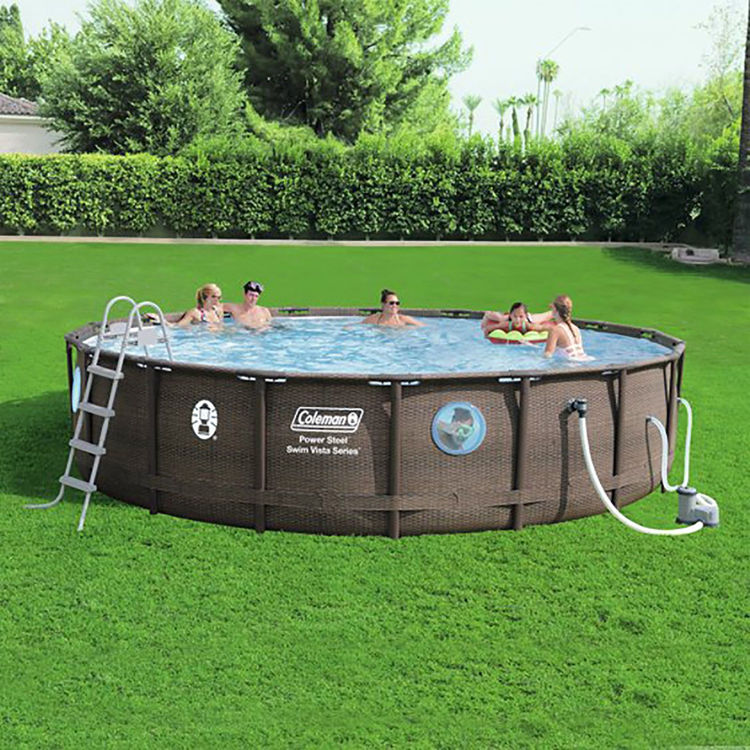 Coleman Above Ground Swimming Pool Above Ground Swimming Pools Coleman Pool Pool