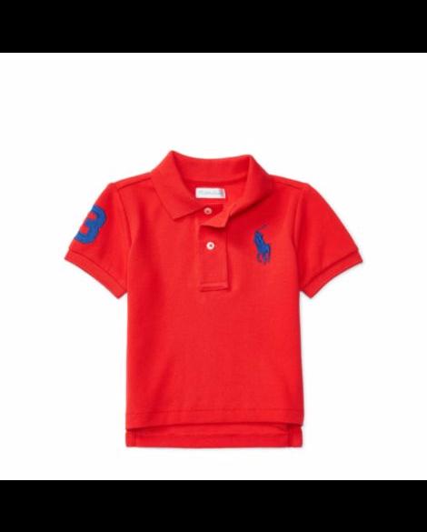 70d94a76 Baby Boy Big Pony Ralph Laauren Polo Shirt, Top Authentic - - Ralph Lauren  Baby
