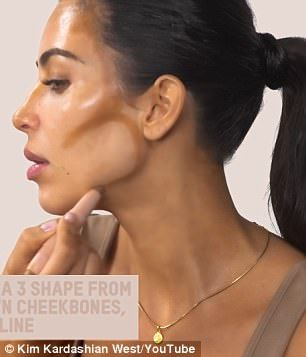 Watch Kim Kardashian do her own make-up in less than five minutes>