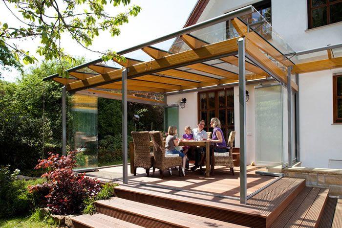 Solarlux Glass Canopy Glass House in Scotland & Solarlux #Glass #Canopies   veranda/berging Vathorst   Pinterest ...