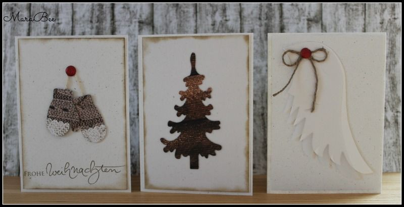 Very simple Christmas Cards!