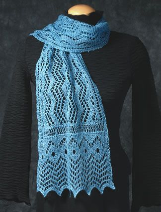 Free Pattern For Crochet Ruffle Scarf Knit Or Crochet Shawl With