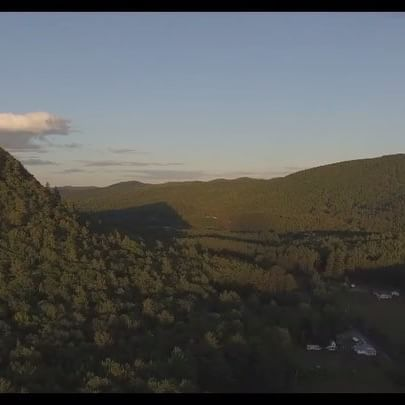 Some sweet drone shots in the mountains!