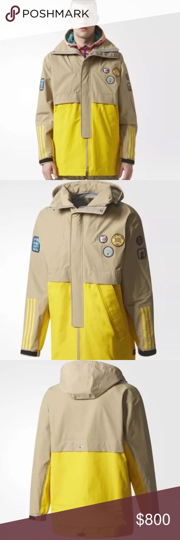 dd89fcf73064 adidas Pharrell Williams HU 3-Layer Hiking Jacket Selling brand new ...