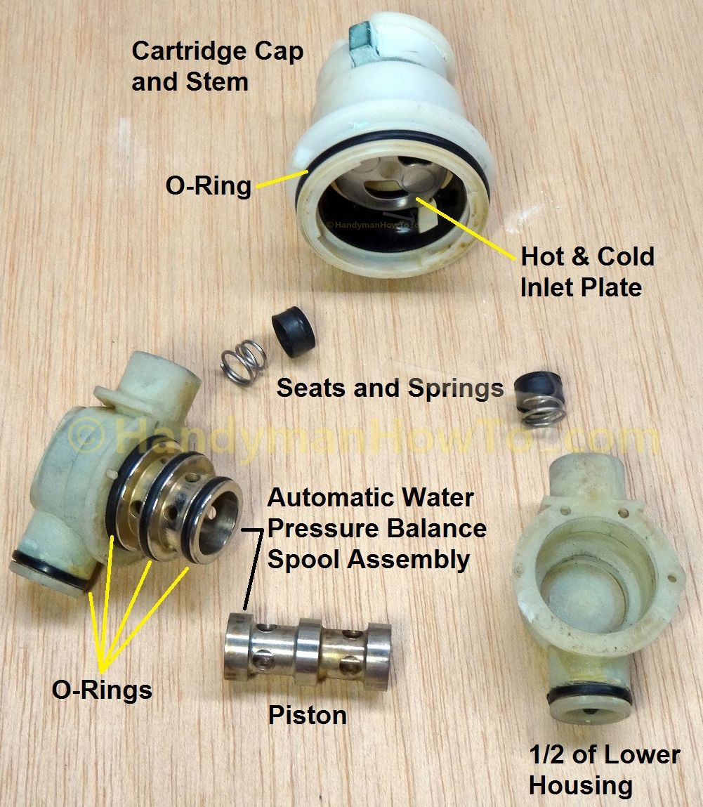 How To Adjust A Shower Valve Water Temperature Shower Valve